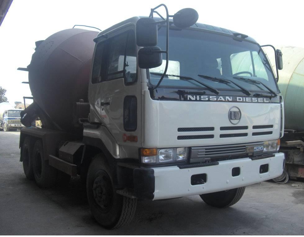 NISSAN Mixer Truck-(332-RC)