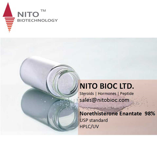 Factory hot sell Norethisterone Enantate 99% HPLC great effect steriods bulk powder