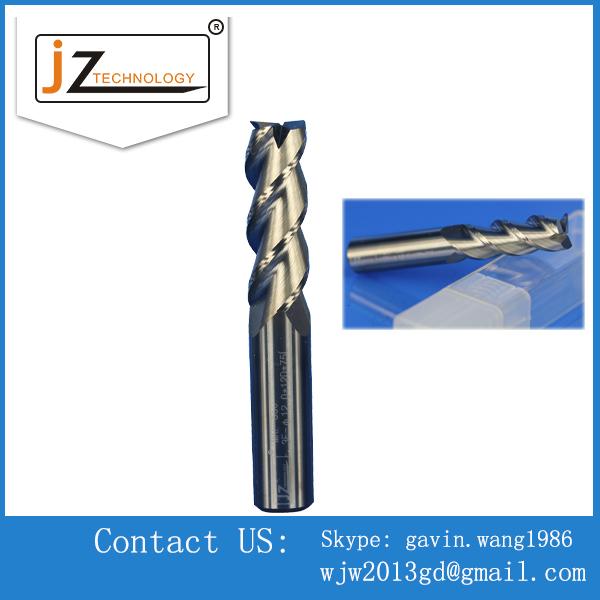 Precision Aluminium Using Three Blades CNC End Mills