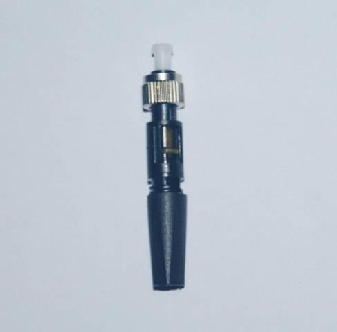 ST quick fiber optic connector