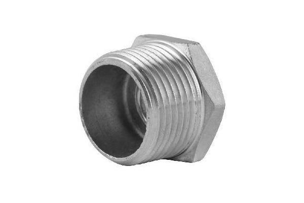 stainless steel hexagon male plug