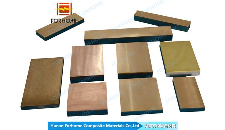 CORC G Steel Base Copper Used for Industry Machine Zinc Base Alloy Steel Clad Wear Plate