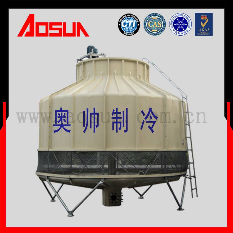 200m3 per hr FRP Carrier Couter-Flow dry cooling towers