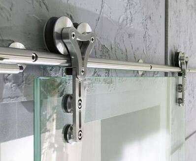 Home Design Heavy Duty Interior frameless sliding glass door hardware
