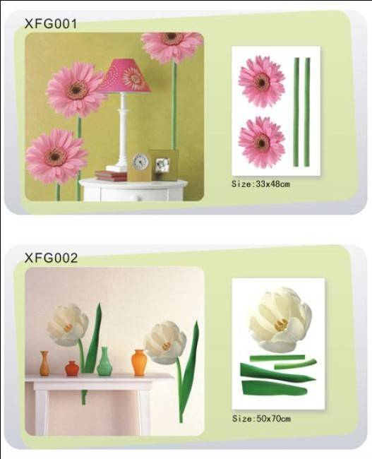 Home Decorative Stickers,Flower Stickers