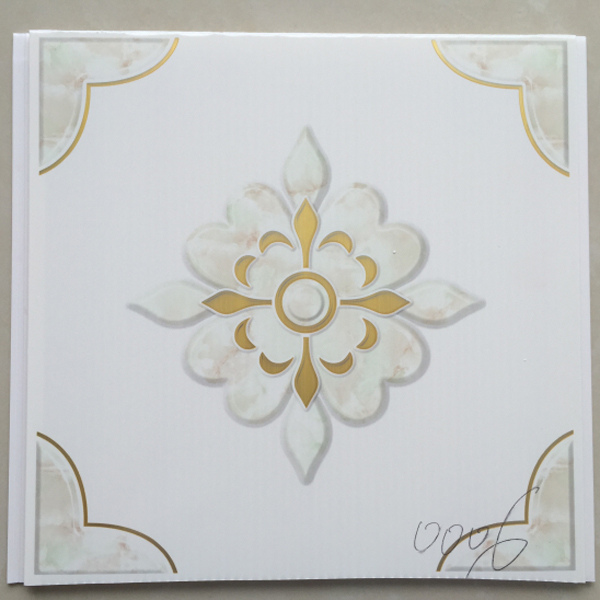 muslim style cheap decoration pvc Artistic Ceilings sheet