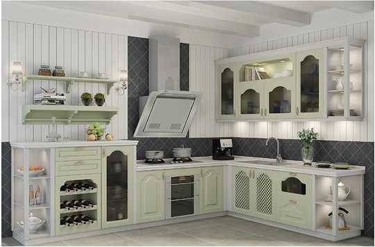 Alice,Elegant Made-in-China Kitchen Cabinet