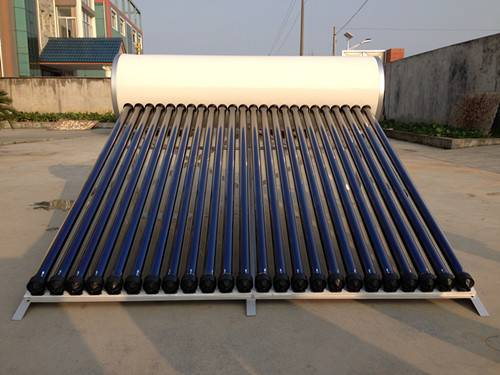 Integrative pressurized system glass vacuum tube solar energy products hot water heaters