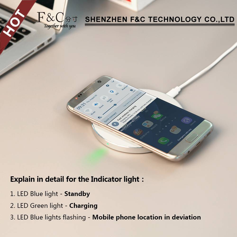 New-year convinient power suppier,wireless charger for your choice