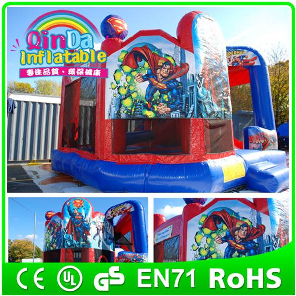 Guangzhou Qin Da Inflatable bouncer house inflatable castle