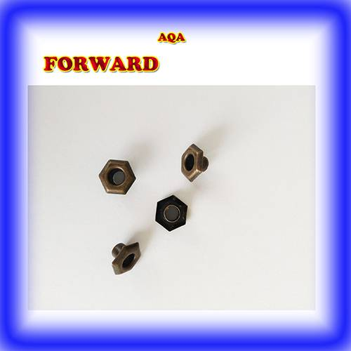 METAL BRASS EYELETS AND HOOKS FOR SHOES