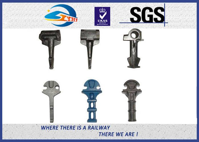 ZhongYue GOST Russian Type Railway Shoulder with Clamp as Railway Fastening System Part