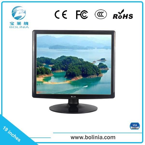 19 inch no widescreen pc monitor VGA interface