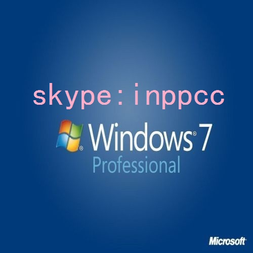 Windows 7 Professional Product Key COA Label Sticker License