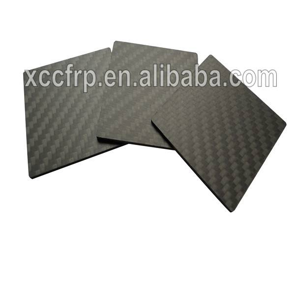 6mm 7mm 8mm 9mm 10mm High quality 3k 100% real carbon fiber laminated plate/sheet