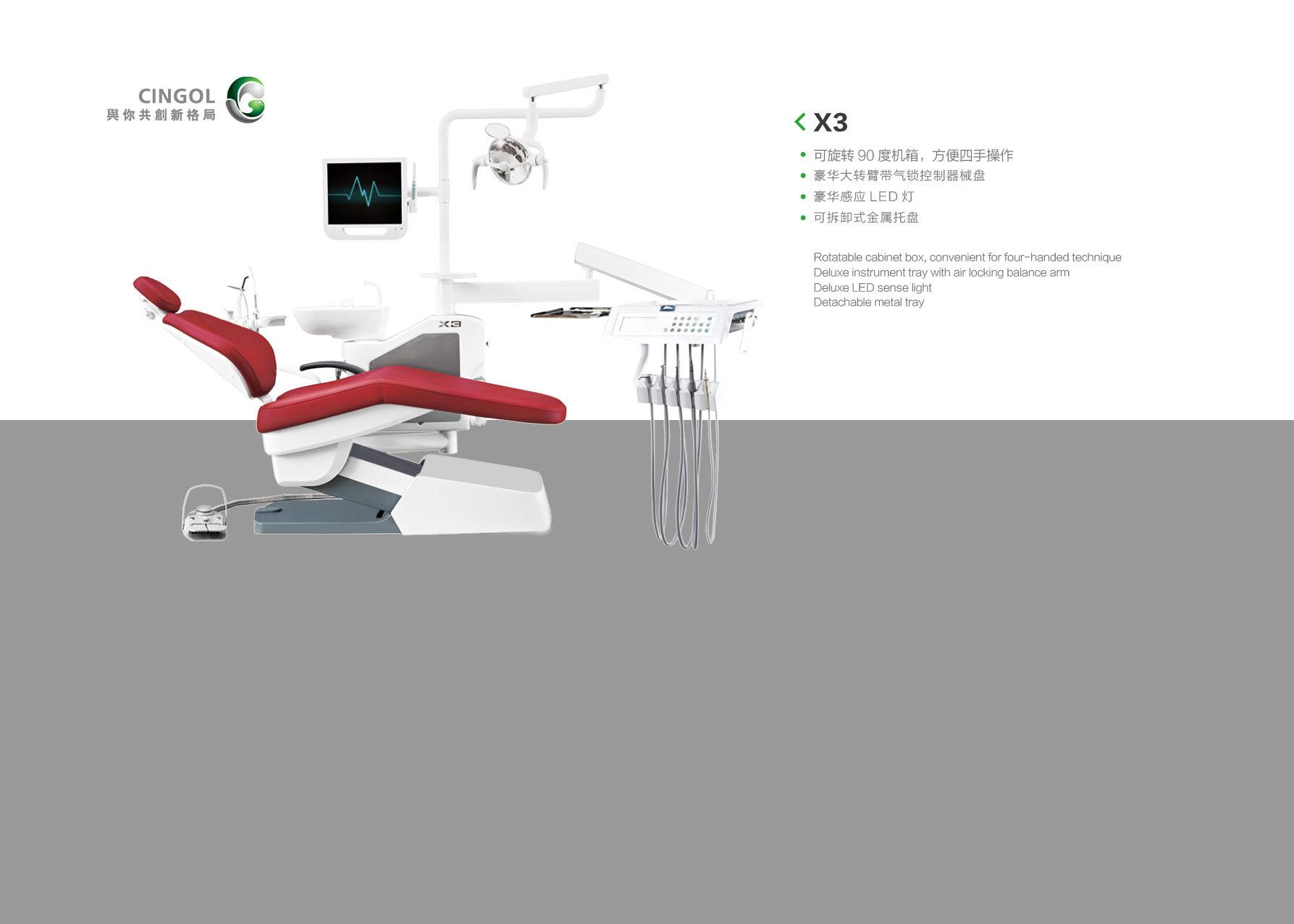 X3 hunmanized dental unit