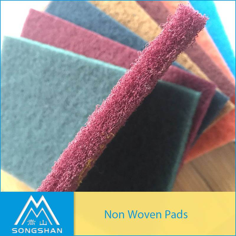 non-woven matertail similar quality with scotchbrite hand pad 7447 7440