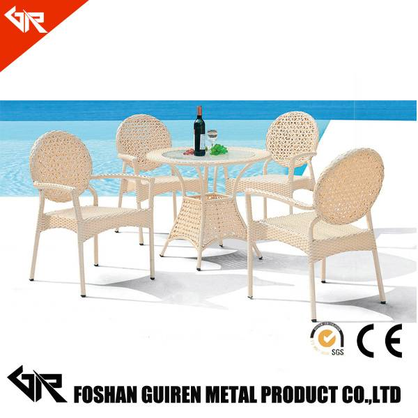 UV-resistant pe rattan/wicker furniture,used leisure garden and restaurant dining room rattan wicker