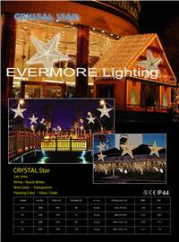 motif light crystal star