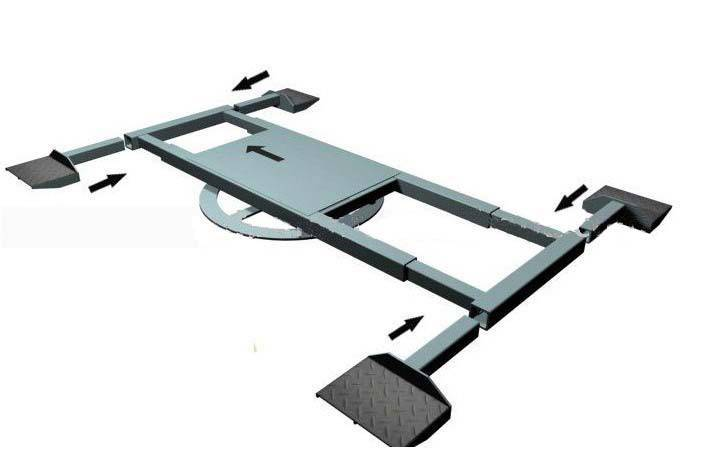 car parking turntable