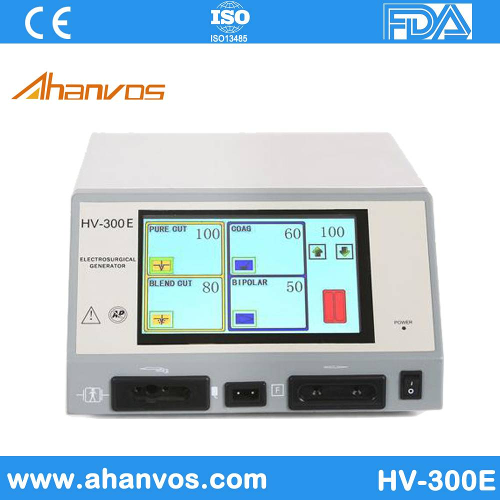 High Frequency Electrosurgical Unit Portable Microdermabrasion Machine HV-300E LCD with High Quality