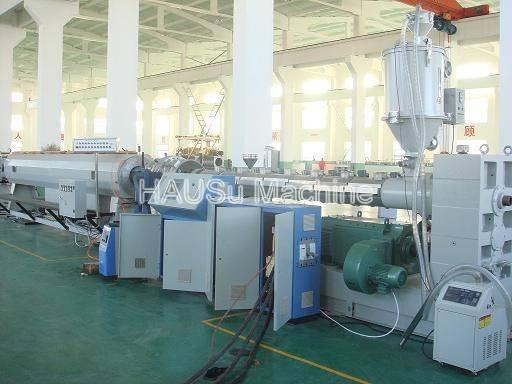 Plastic Pipe Extrusion Machine_HDPE/PP Pipe Extrusion Line