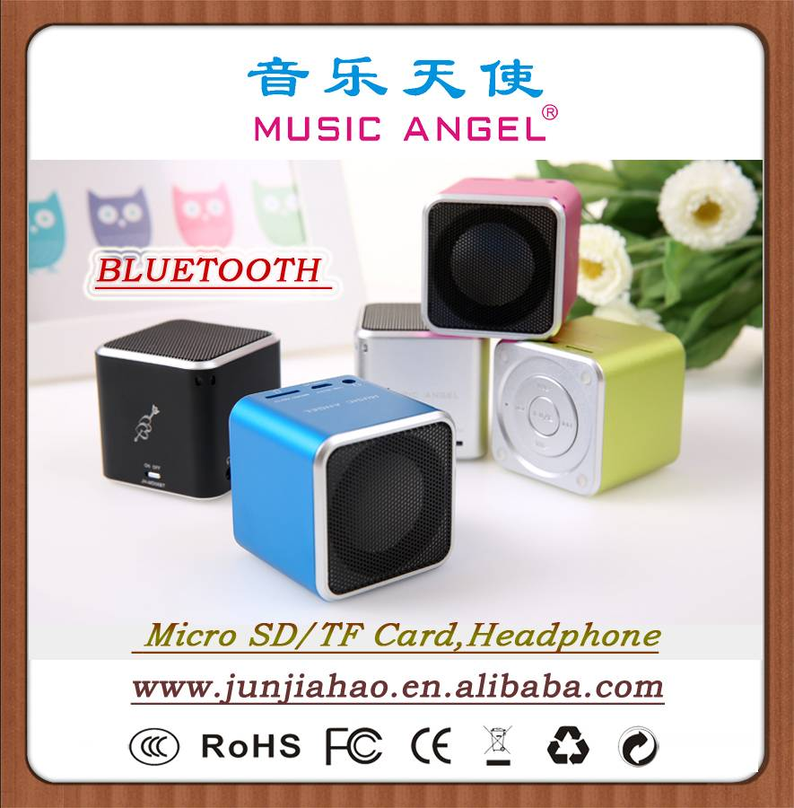 MUSIC ANGEL mini speaker JH-MD06BT Bluetooth speaker