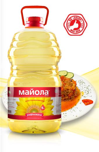 Sunflower oil Majola 1L