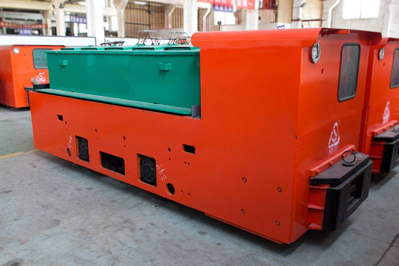Explosion proof Battery Locomotive 8 tons for Coal, Railway Vehicle