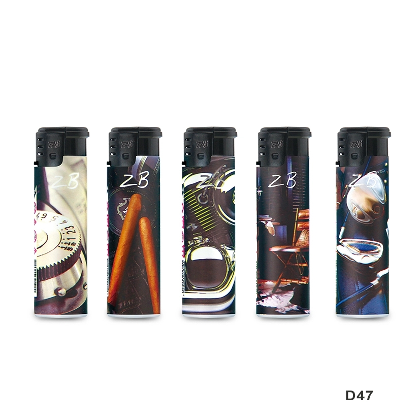 Bulk Sell Gas Lighter with Transparent Tank Lighters disposable