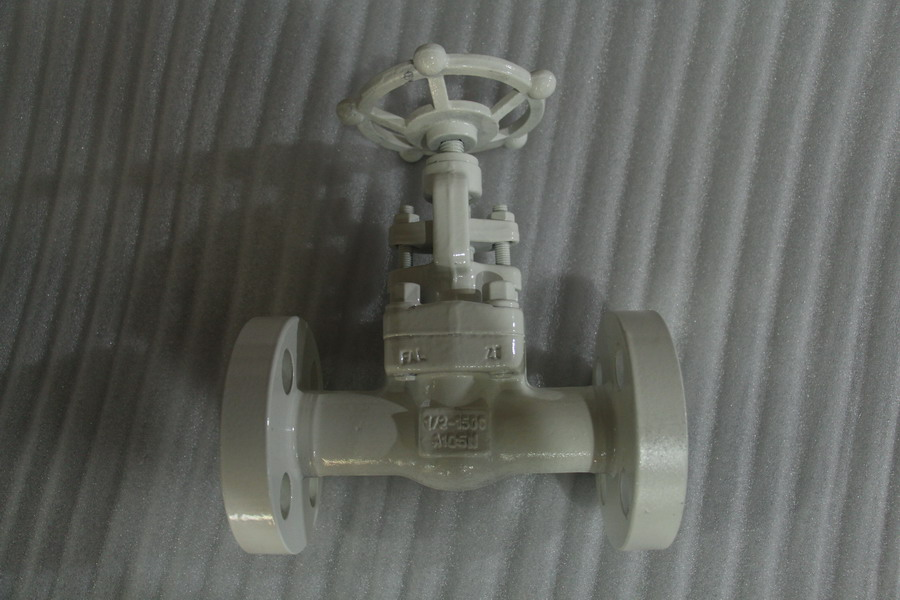 "forged gate valve with flange end 1/2"" 1500LB"