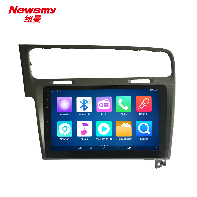 NM7103-02-H-H0 VW Golf 7 14-16 Silver gray canbus Newsmy CarPad4 head unit Android 5.0 with Newyan