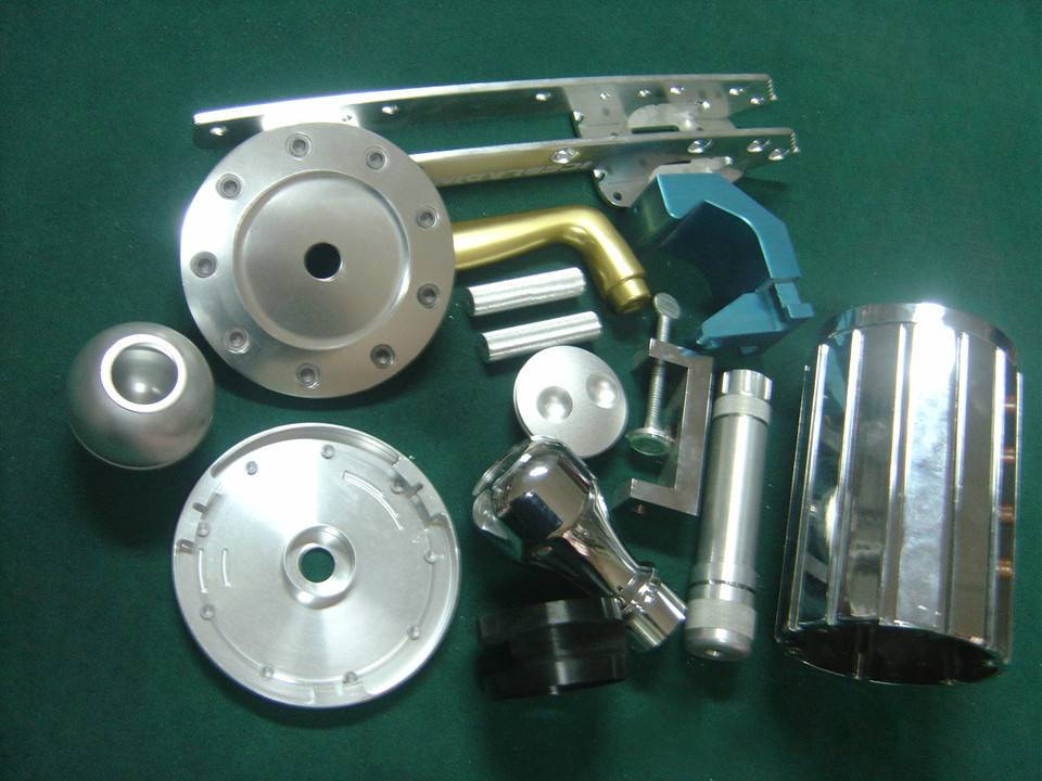 Selected Precision CNC extrusion aluminum products