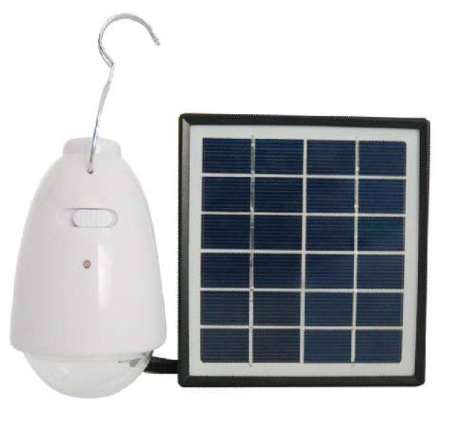 Solar lantern with 1W super bright LED