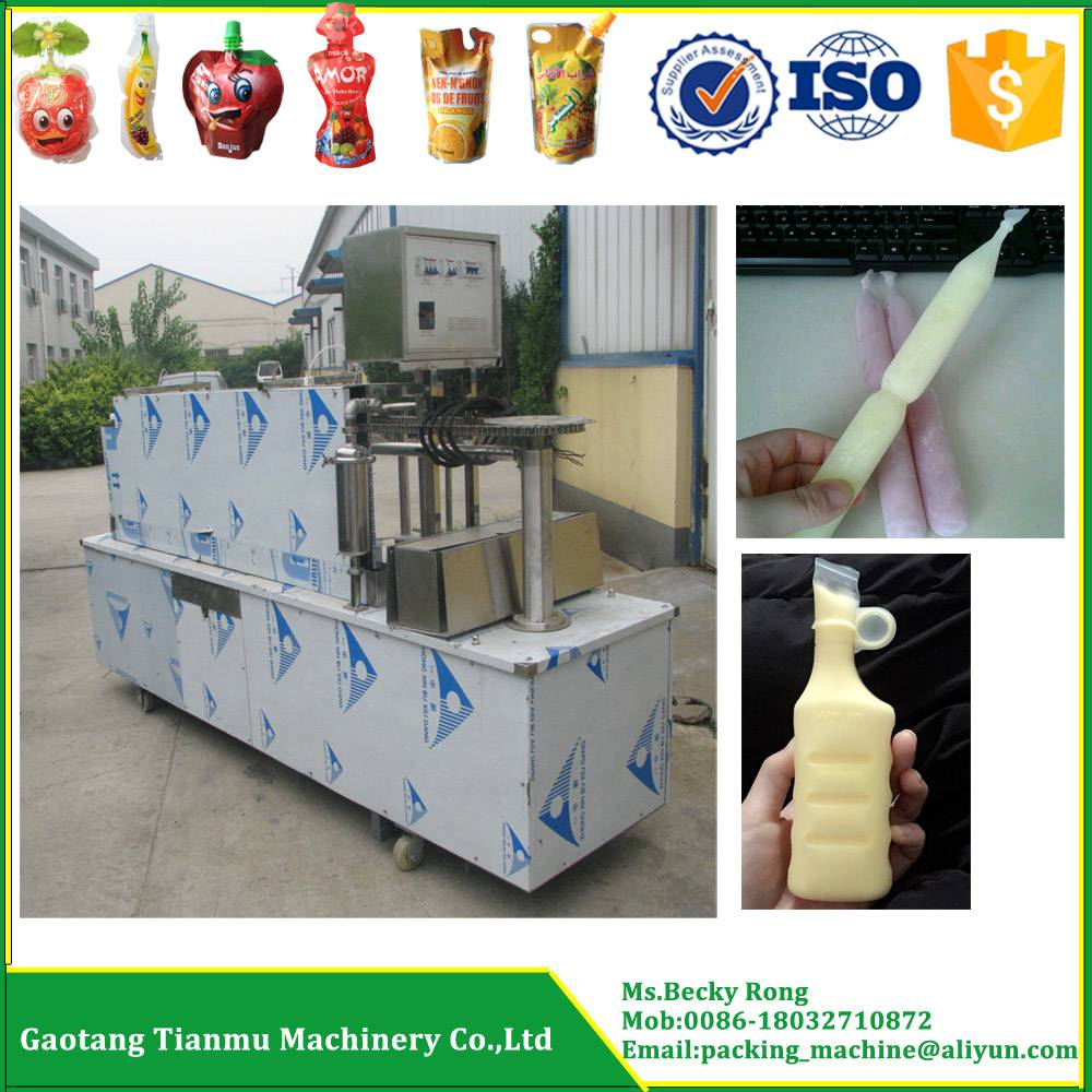 ice pop/ice lolly/ice lolly tube filling and sealing machine