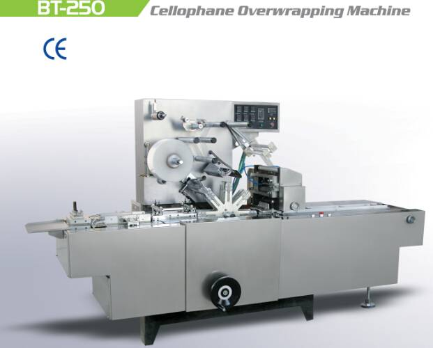 New Style  BT-250 Cellophane Overwrapping Machine