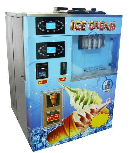 HM766 Vending soft ice cream machine