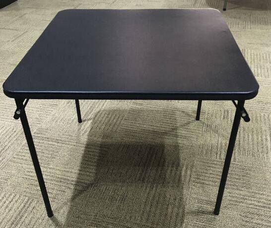 86cm Leather Top Square Table (YCZ-86-3)