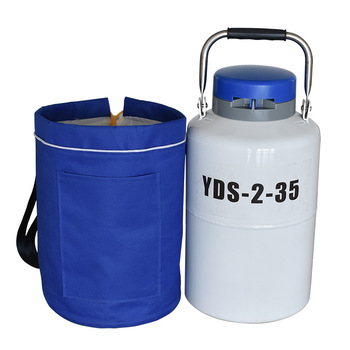 2 Liter Small Liquid Nitrogen Container Cryogenic Container