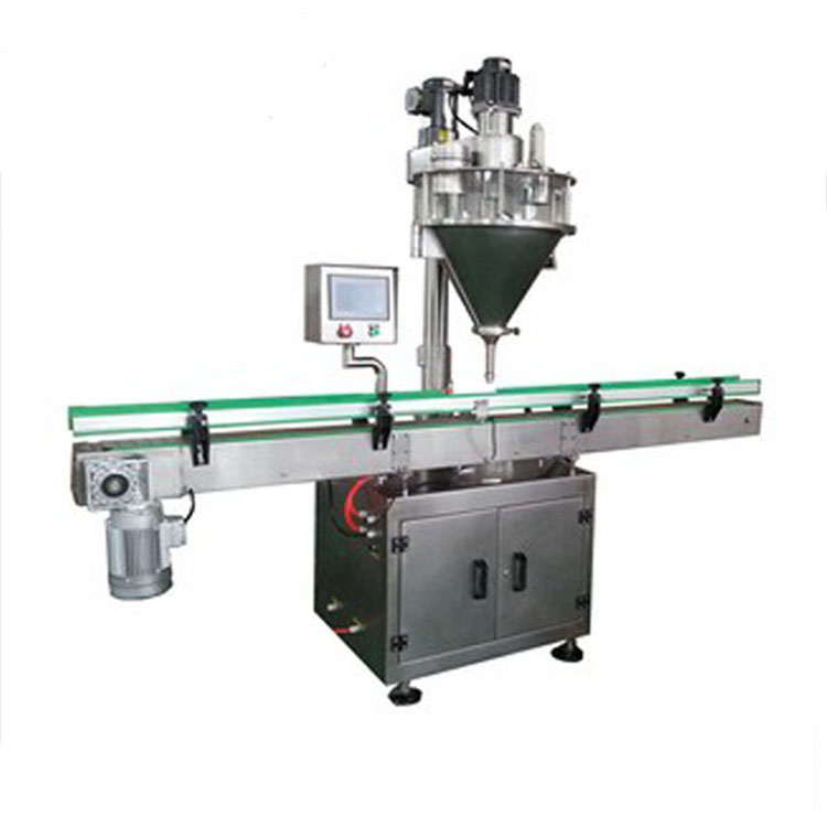 Can bottle packing coffee powder filling machine