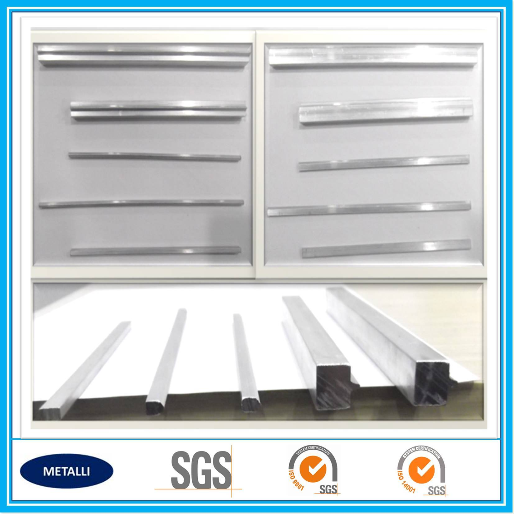 aluminum alloy sealing bar