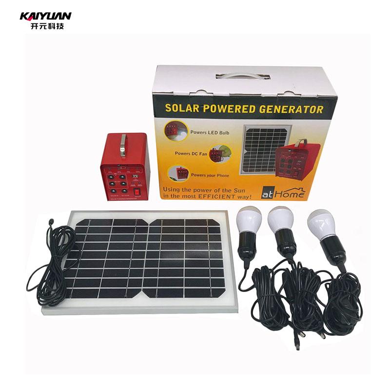 Portable off grid solar power generator for sale