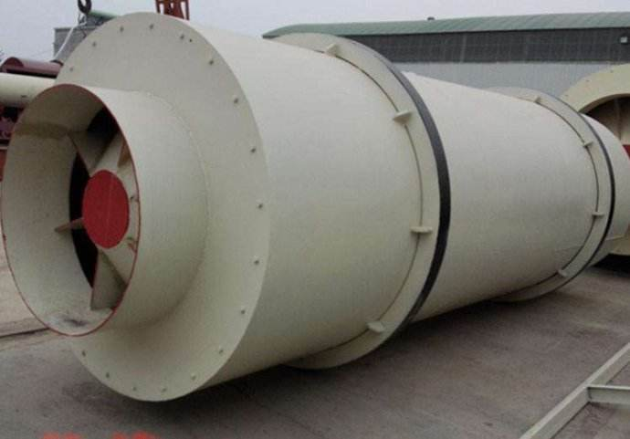 Triple Drum Rotary Dryer for drying Magnesite, Quartz, Feldspar sand