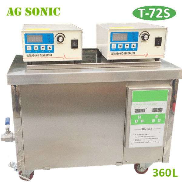 AG SONIC car parts ultrasonic cleaner 360L CE