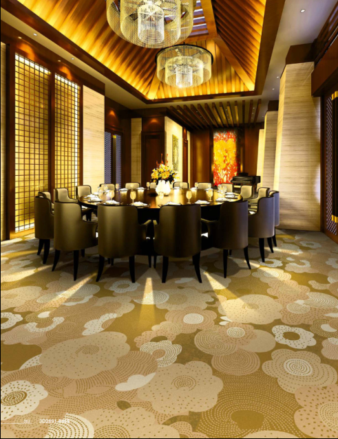 2017Guangzhou Hot sale and Good Quality 100%Nylon Tufted Hotel Carpet