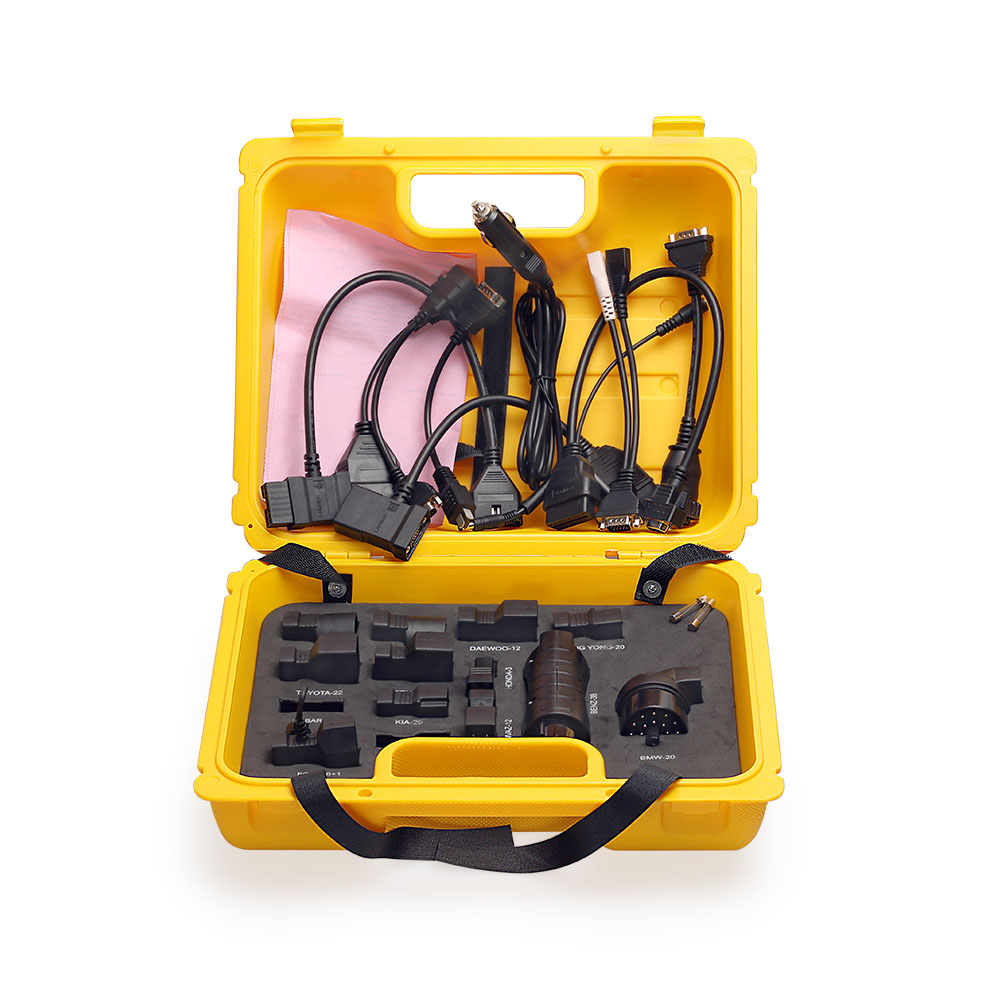 Hot sale Launch X431 Diagun IV yellow case with full set cables Yellow box for x-431 Diagun IV