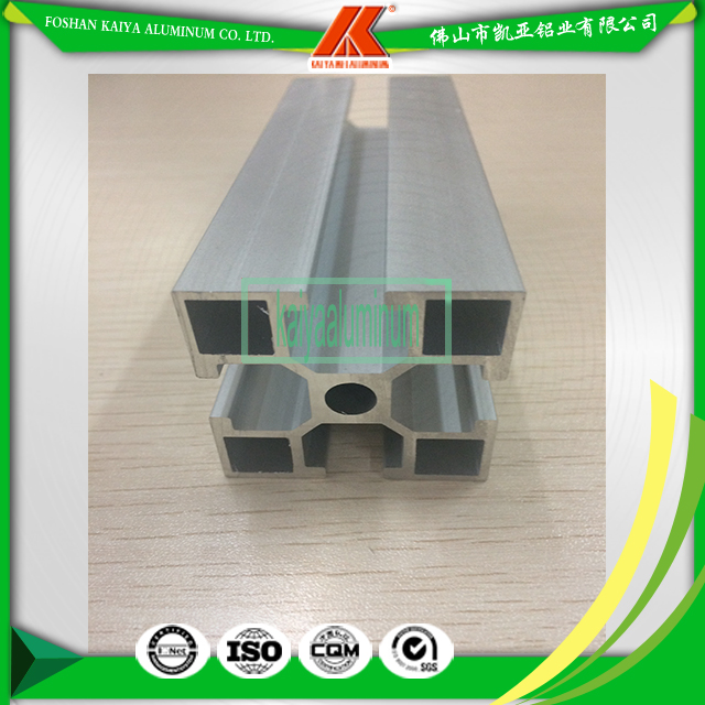 Durable Modeling Anodized Silver Aluminum T Slot Profile