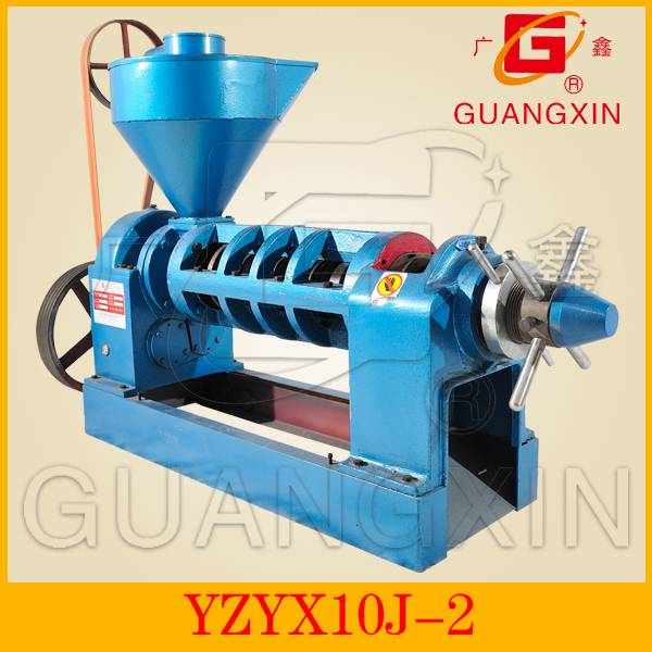 High oil output screw peanut oil extractor