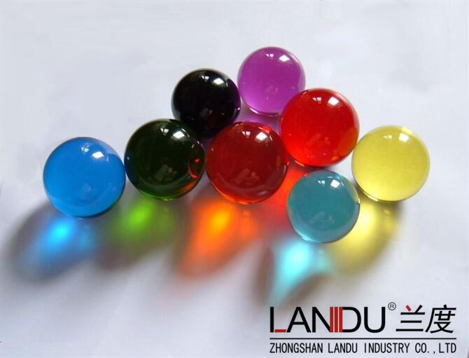 High quality colorful acrylic round balls