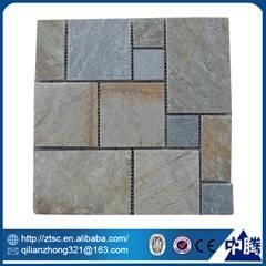 cheap natural irregular stone mosaic interior decoration items
